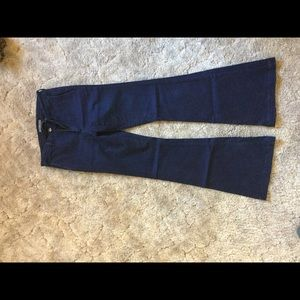 Abercrombie and fitch wide leg jeans